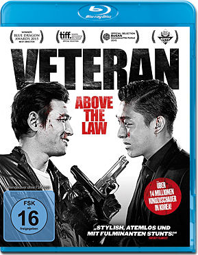 Veteran: Above the Law Blu-ray
