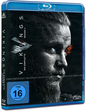 Vikings: Staffel 2 Blu-ray (3 Discs)
