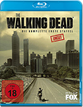 The Walking Dead: Staffel 01 - Uncut Version Blu-ray (2 Discs)