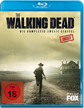The Walking Dead: Staffel 02 Blu-ray (3 Discs)