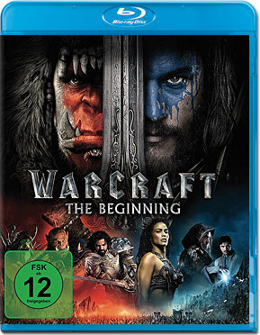 Warcraft: The Beginning Blu-ray