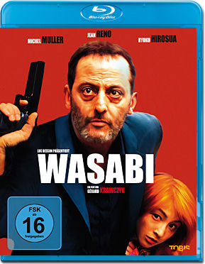 Wasabi: Ein Bulle in Japan Blu-ray