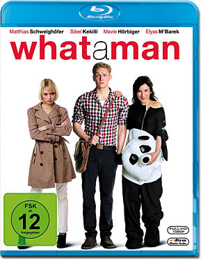 What a Man Blu-ray