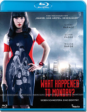 What happened to Monday? Blu-ray