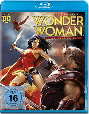 Wonder Woman (2009) - Jubiläumsedition Blu-ray