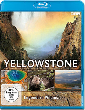 Yellowstone: Legendäre Wildnis Blu-ray