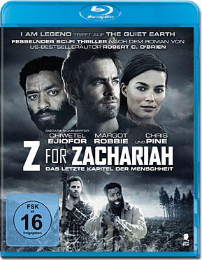 Z for Zachariah Blu-ray