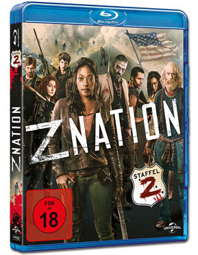 Z Nation: Staffel 2 Box Blu-ray (4 Discs)