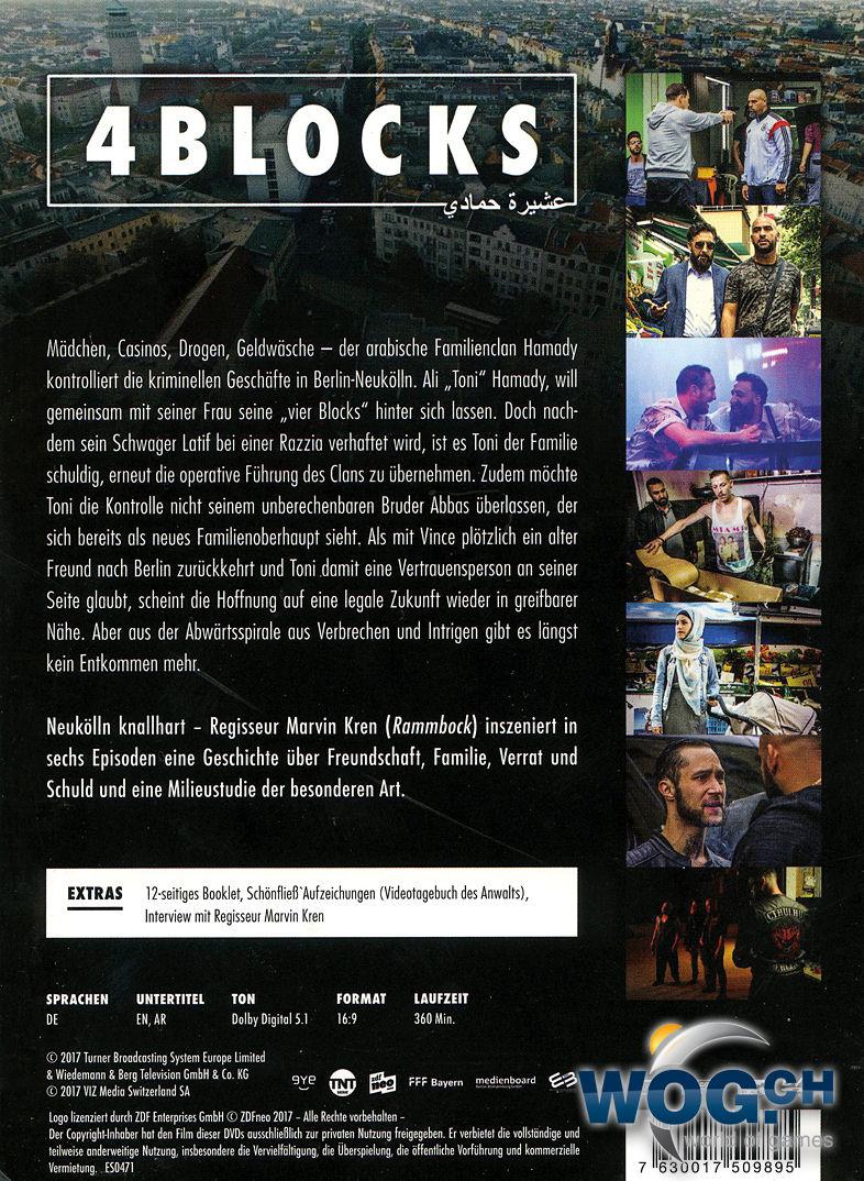 4 Blocks Staffel 1 2 Dvds Dvd Filme World Of Games