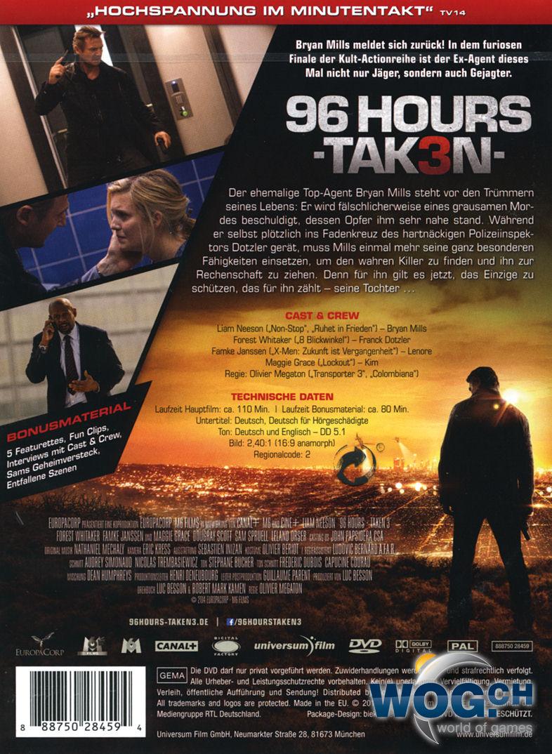 96 Hours Taken 3
