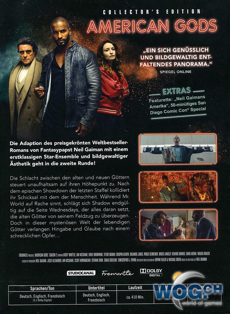 Gods Of America Staffel 2