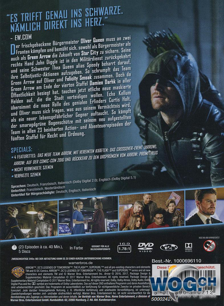 Arrow 5 Staffel