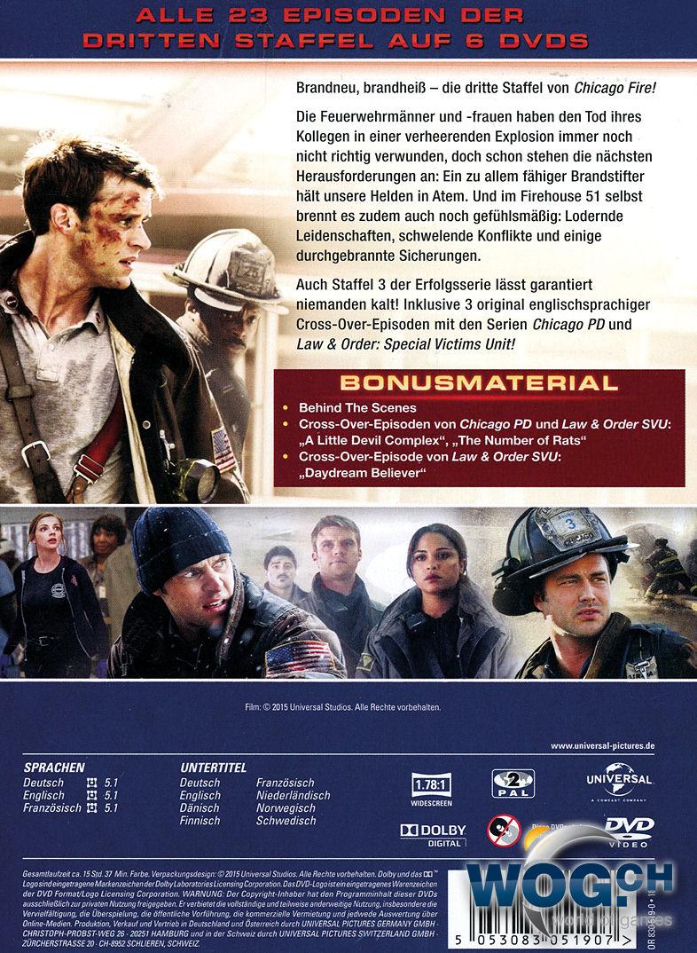 Chicago Fire Staffel 3 Deutsch