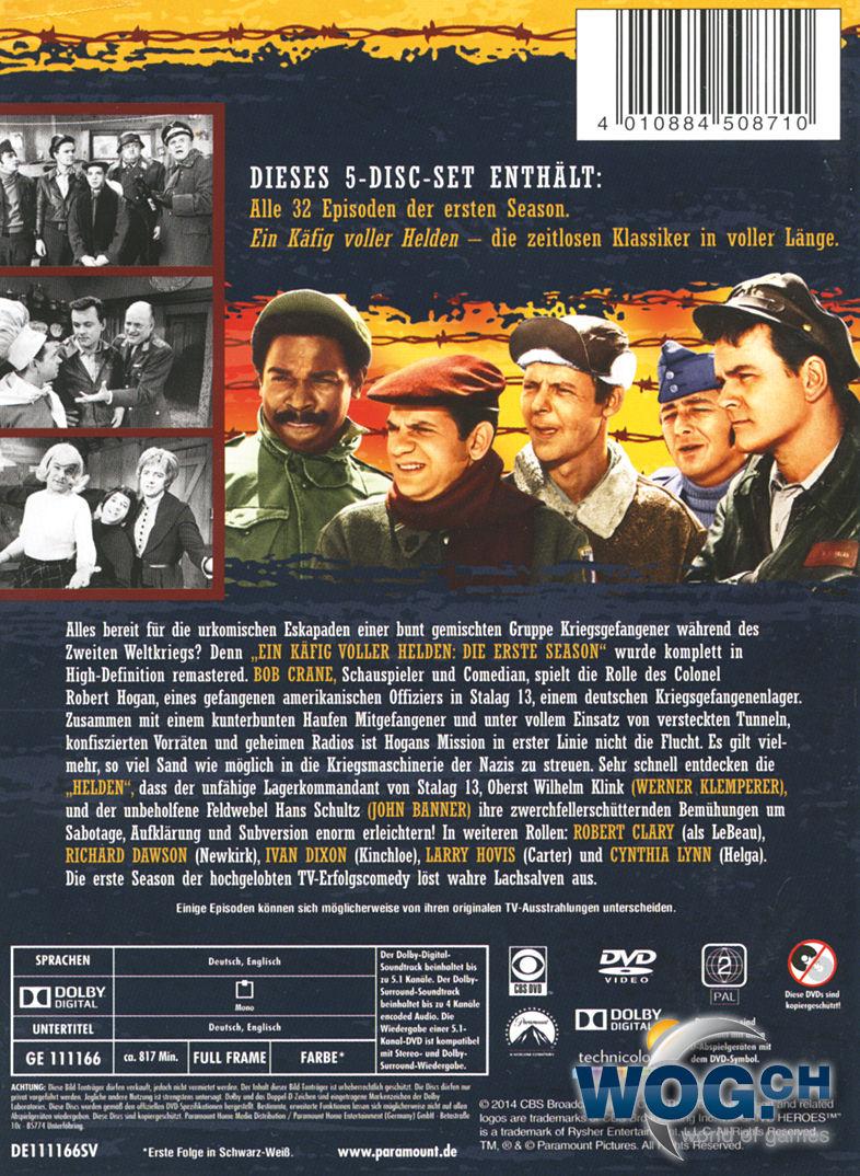Ein Käfig Voller Helden Staffel 1 5 Dvds Dvd Filme World Of Games