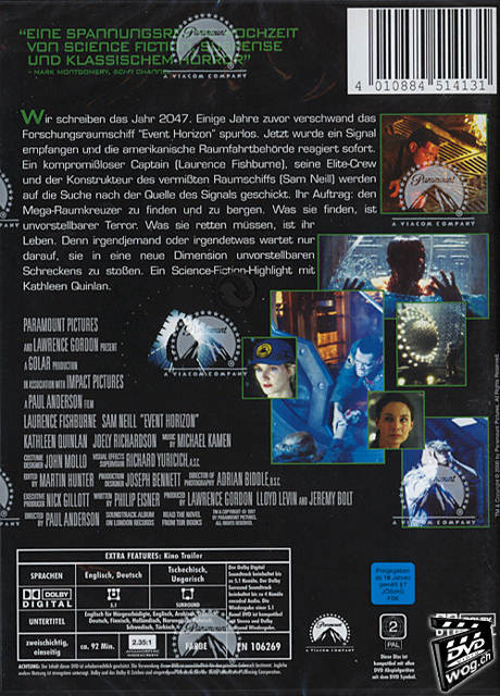 Event Horizon Dvd Filme World Of Games