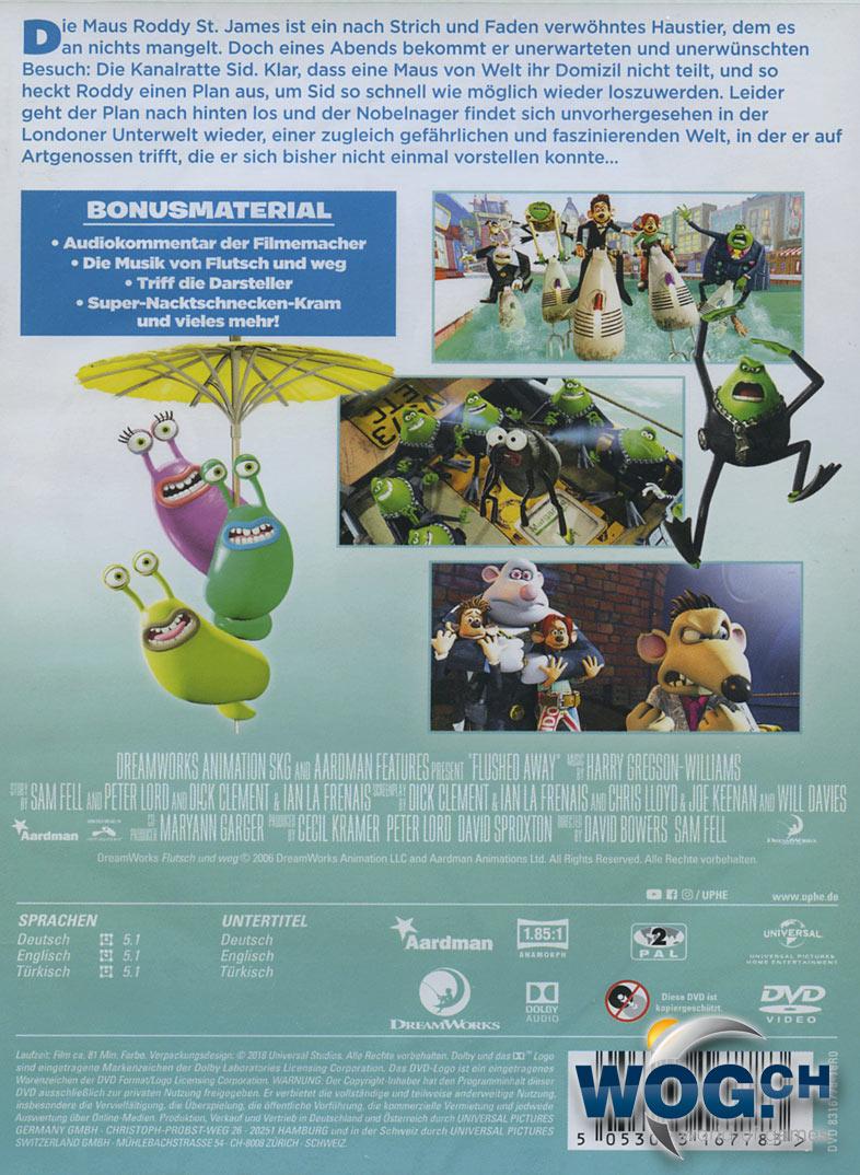 Flutsch Und Weg Dvd Filme