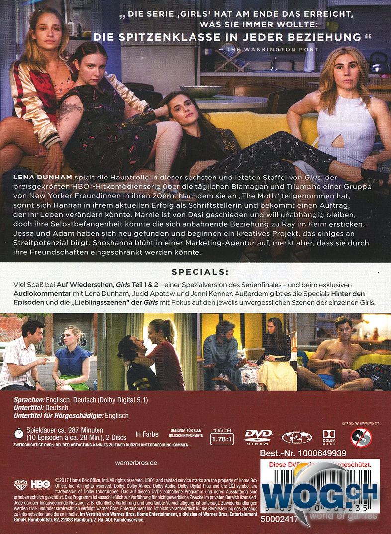 0d914076cfcd57 Girls  Staffel 6 Box (2 DVDs)  DVD Filme  • World of Games