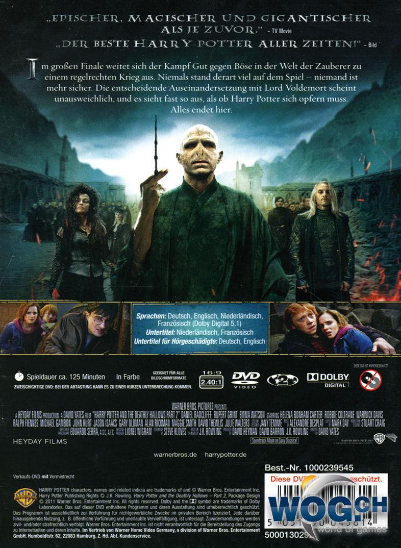 Harry Potter Und Der HeiligtГјmer Des Todes Teil 2 Stream