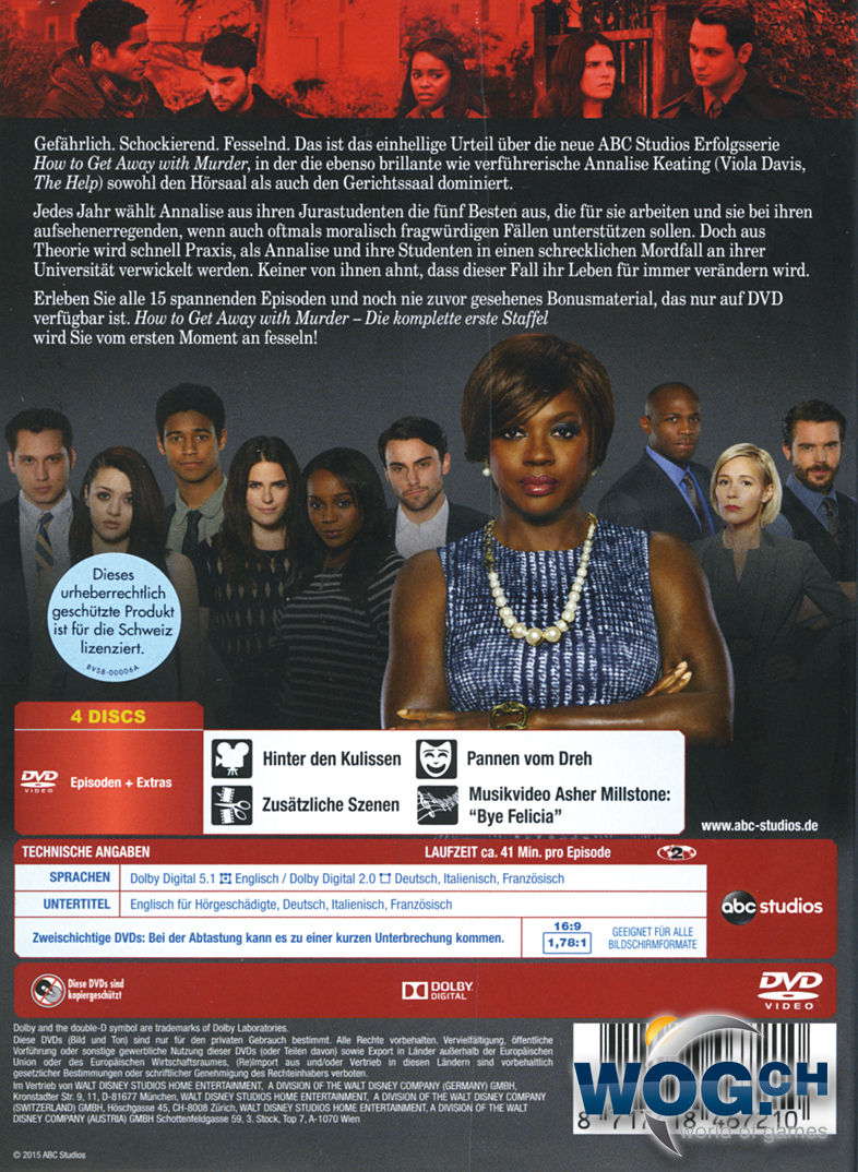 How To Get Away With A Murder Staffel 4