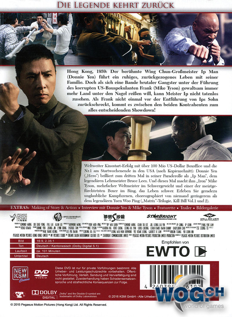 IP Man 3 [DVD Filme] • World of Games