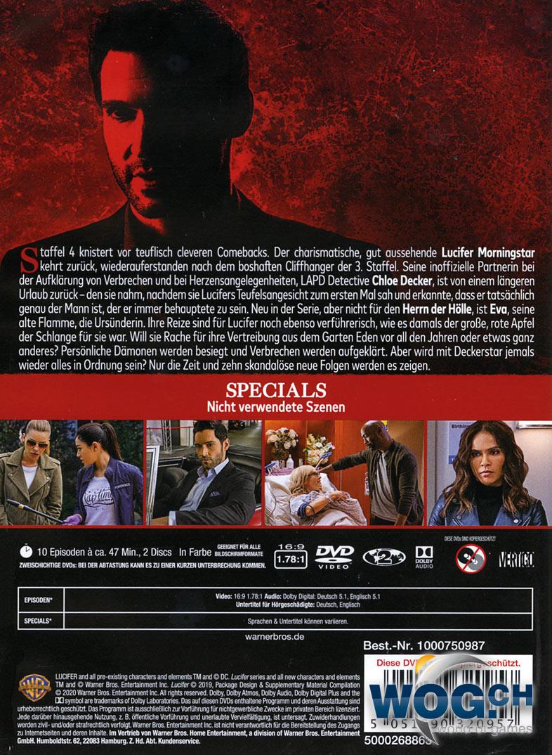 Lucifer Staffel 2 Deutsch Release