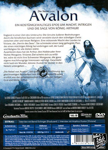 Die nebel von avalon dvd filme world of games for Die nebel von avalon