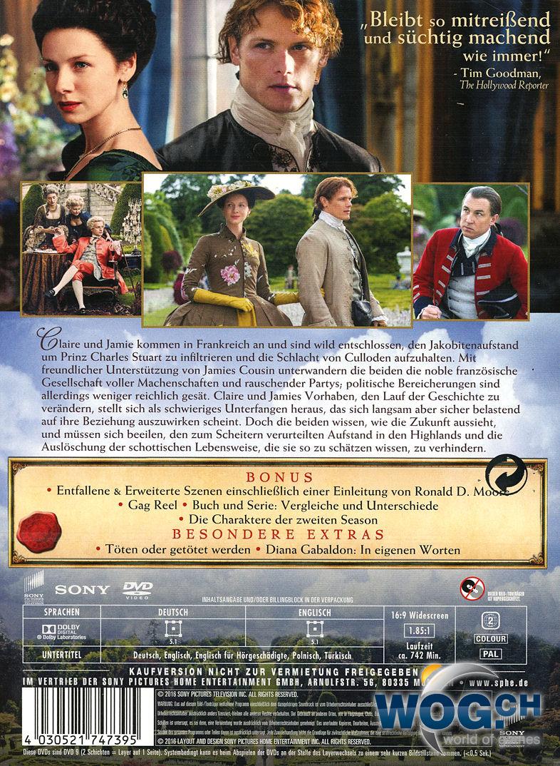 Outlander Staffel 2 Download