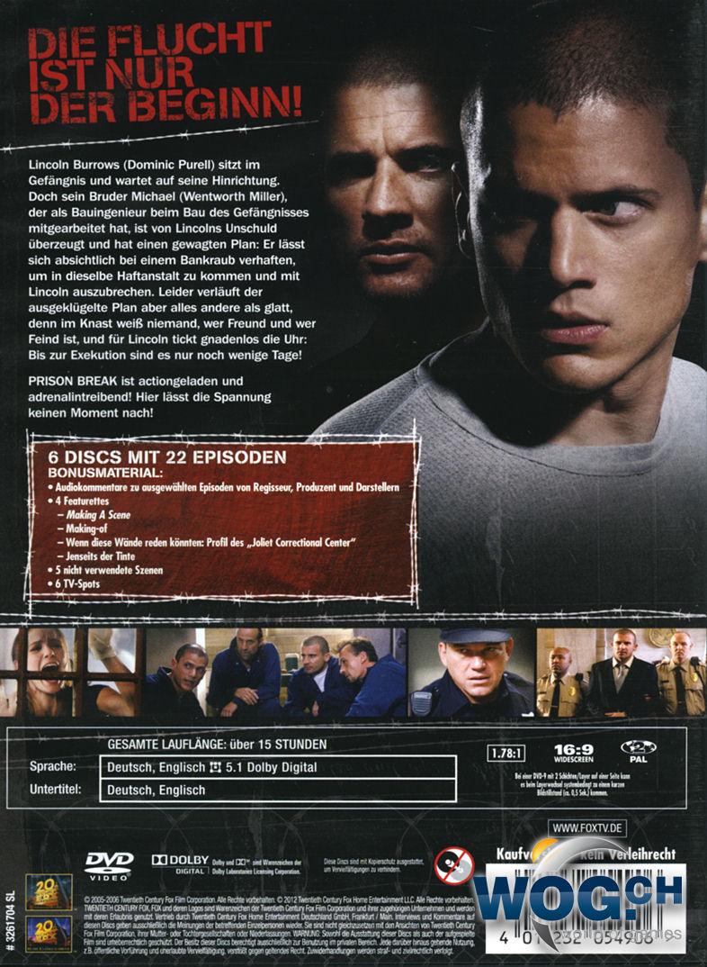 Prison Break 6 Staffel