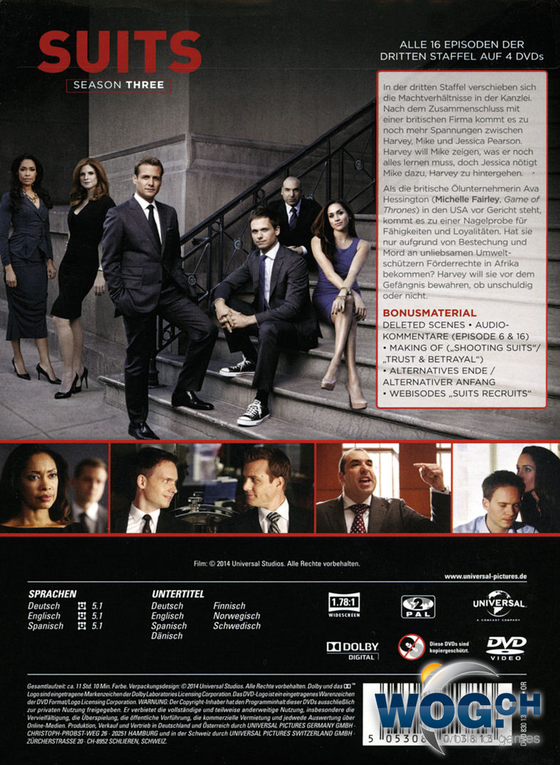 suits 3 staffel