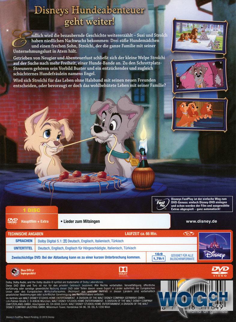 Susi Und Strolch 2 Dvd Filme World Of Games