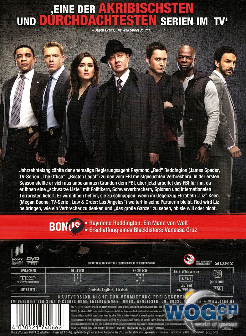 The Blacklist Staffel 2