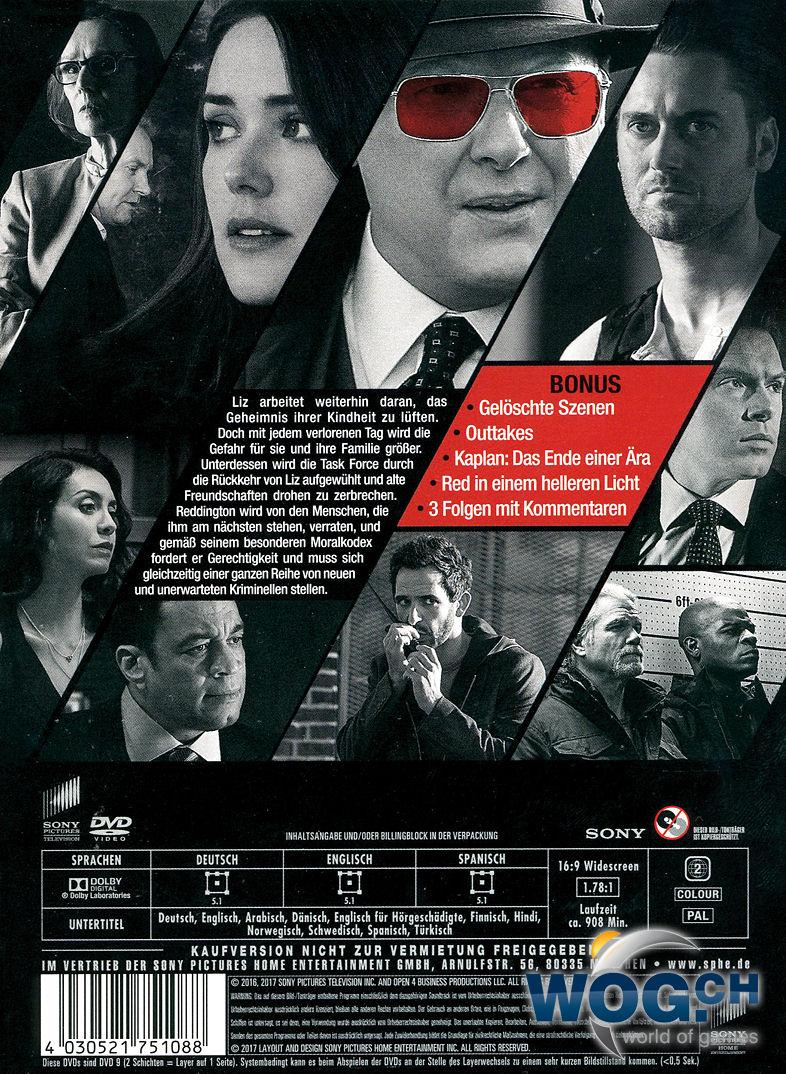 Blacklist Staffel