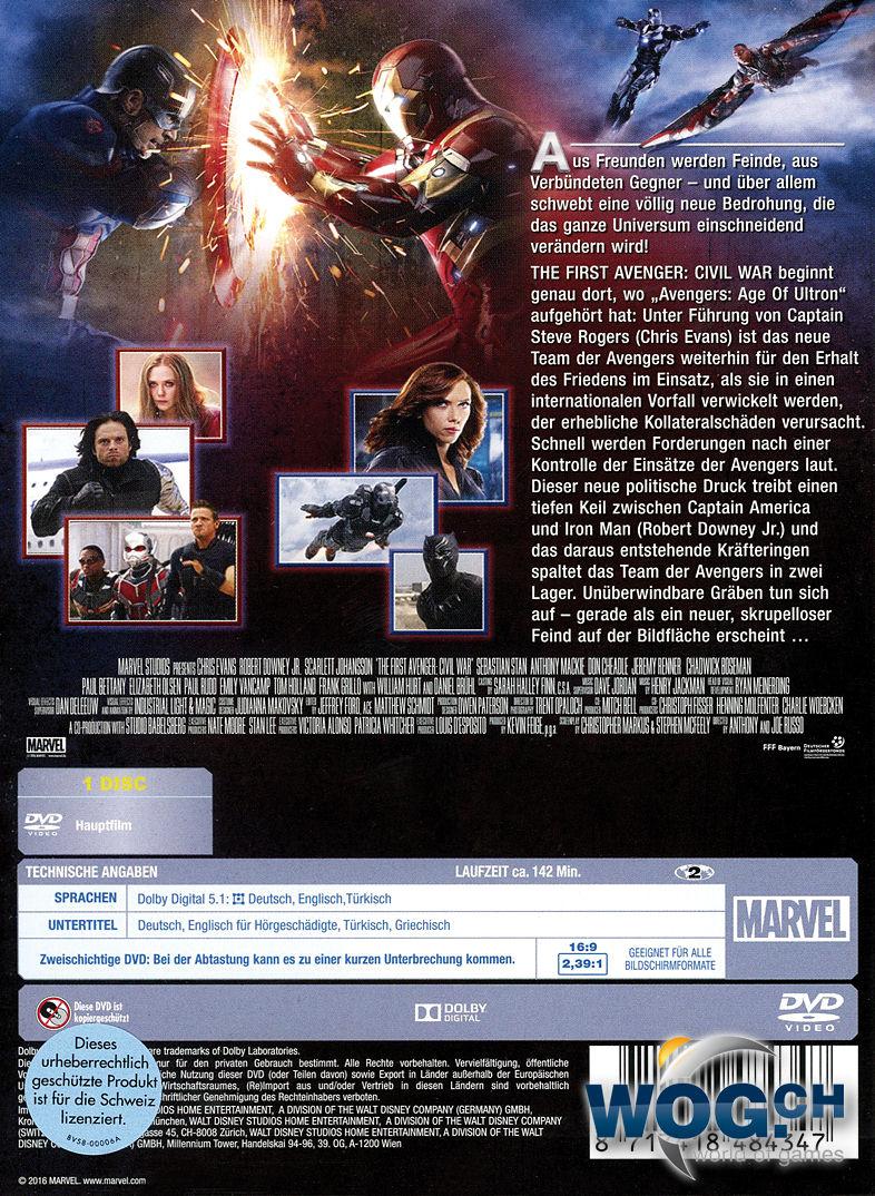 The First Avenger Civil War Hdfilme