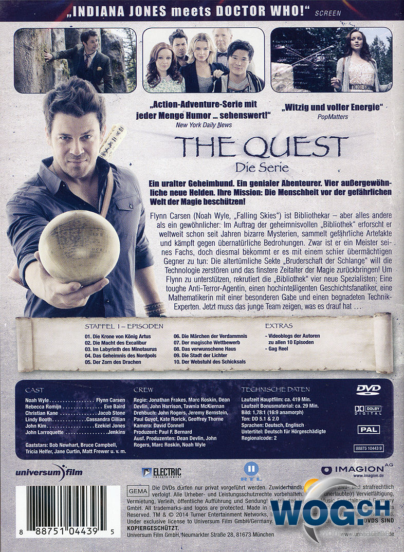 The Quest – Die Serie