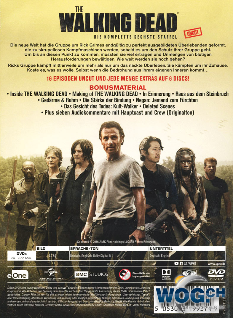 the walking death staffel 6