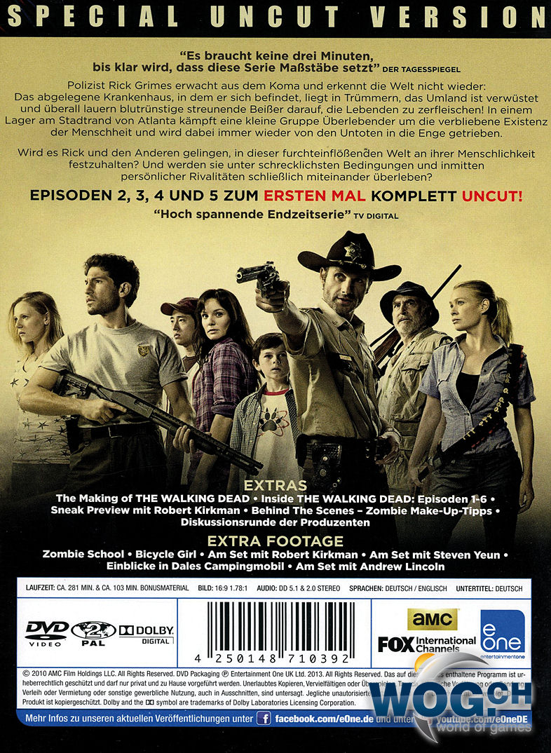 Staffel 1 The Walking Dead