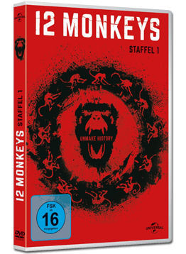 12 Monkeys: Staffel 1 Box (4 DVDs)