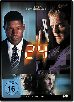 24: Staffel 2 (6 DVDs)