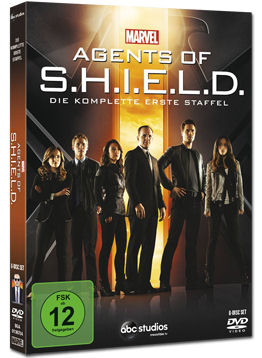 Agents of S.H.I.E.L.D.: Staffel 1 (6 DVDs)