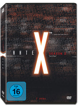 Akte X: Staffel 2 Box (7 DVDs)