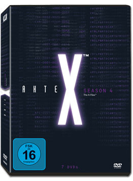Akte X: Staffel 4 Box (7 DVDs)