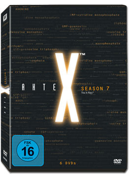 Akte X: Staffel 7 Box (6 DVDs)