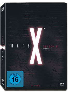Akte X: Staffel 8 Box (6 DVDs)