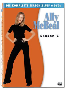 Ally McBeal: Staffel 2 Box (6 DVDs)
