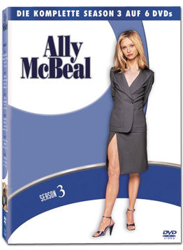 Ally McBeal: Staffel 3 Box (6 DVDs)