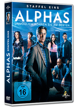 Alphas: Staffel 1 Box (3 DVDs)