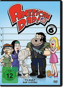 American Dad! Season 6 Box (3 DVDs)
