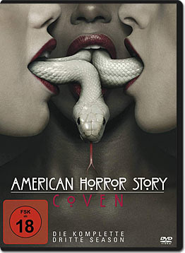 American Horror Story: Staffel 3 Box (4 DVDs)