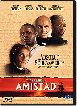 an analysis of the horror of slaves in the film amistad by steven spielberg Comparison between the book and movie amistad by steven spielberg the film based on the true story of the 1839 mutiny on board the slave ship amistad by africans.
