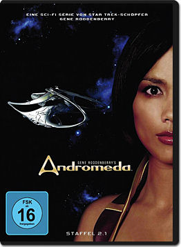 Andromeda: Staffel 2.1 (3 DVDs)